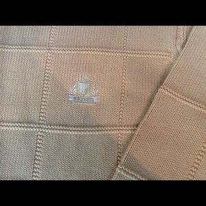 Izod men's sweater in honey color, size L. NWOT